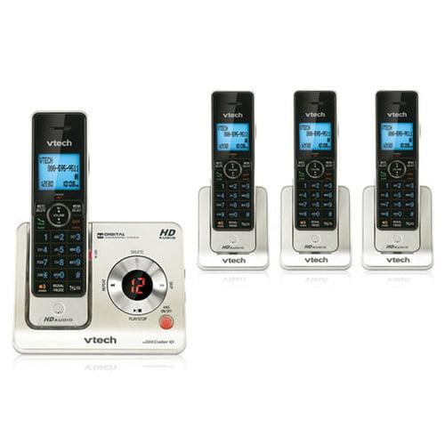 Vtech LS6425-4 Digital Expandable Cordless Phone w/ 4 Extra Handset