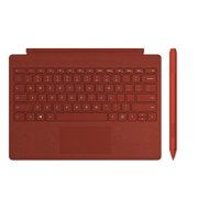 Microsoft Surface Pro Signature Type Cover Poppy Red + Microsoft Surface Pen Poppy Red