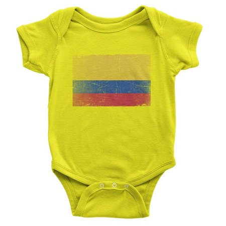 Nyc Factory Nyc Factory Colombia Flag T Shirt Baby Bodysuit