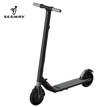 Ninebot Segway - ES1 KickScooter High-Performance 500W Foldable Electric Scooter, 15.5 Mile Range 12.4 mph Top Speed, Cruise Control Mobile APP, LED Light and Digital Display, with a LED
