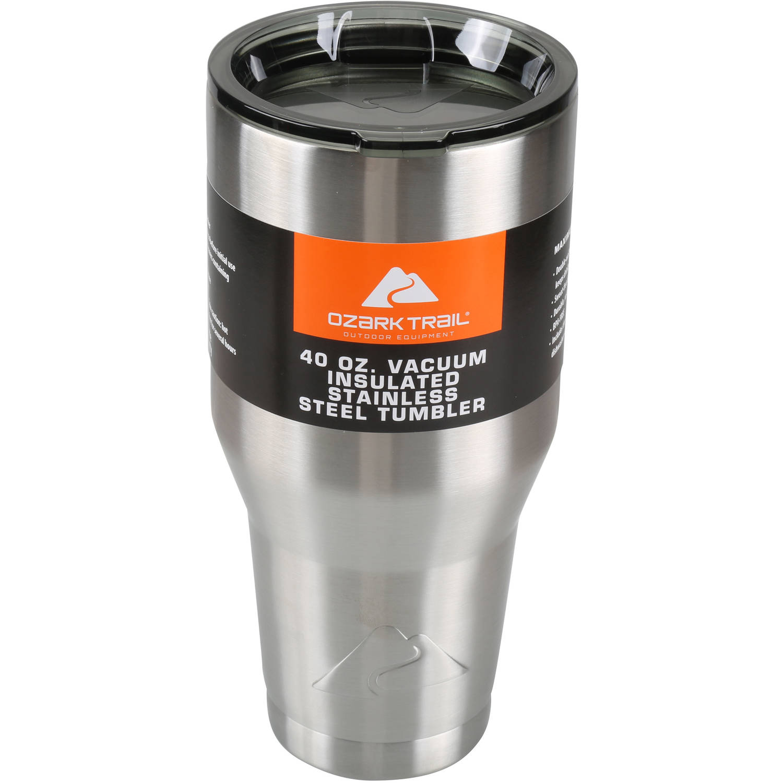 Ozark Trail 40 oz Vacuum Insulated Stainless Steel Tumbler