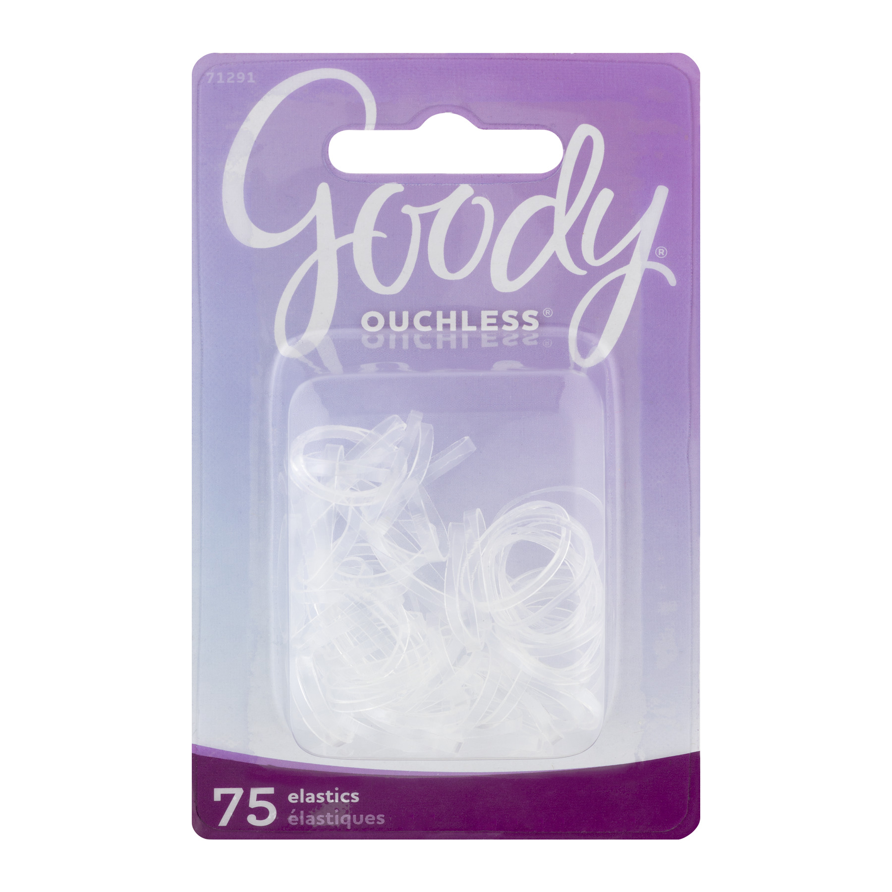Goody Ouchless Elastics - 75 CT