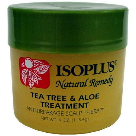 - Isoplus Natural Remedy Tea Tree & Aloe Treatment, 4 oz (Pack of 2)