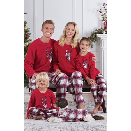 UKAP - Christmas Family Matching Deer Pyjamas Set Xmas Family ... 6dd0055c8