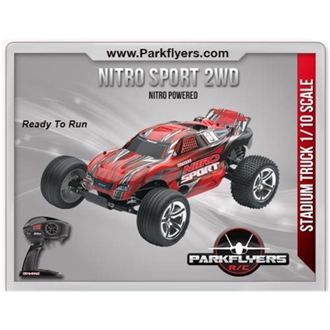 ParkFlyers 45104-1 Traxxas 1-10 Nitro Sport SE 2.4 RTR wi...