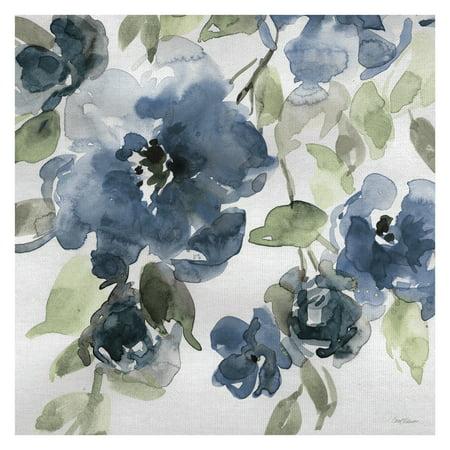 Masterpiece Art Gallery Belle's Blue I Indigo by Carol Robinson Canvas Art Print 30