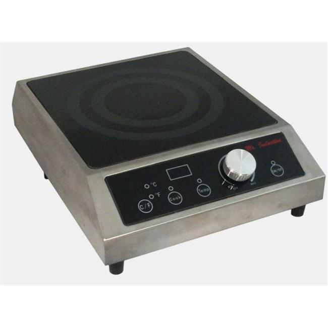 1800W Countertop Commercial Induction Range