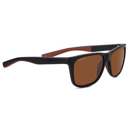 ce37cf6f239fb Serengeti Eyewear - Sunglasses Livio Sanded Black Brown Polarized Drivers  Lens - Walmart.com