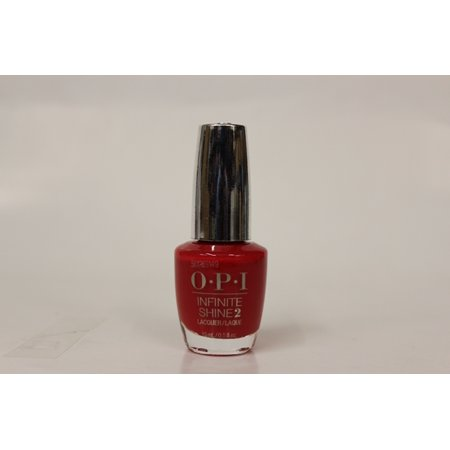OPI- Nail Lacquer- Infinite Shine -Unequivocally Crimson 1/2 FL OZ