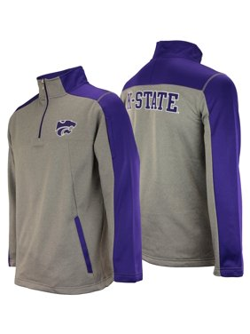 2bafe6fc51a Product Image Outerstuff NCAA Men s Kansas State Wildcats Performance Poly  Fleece 1 4 Zip Up