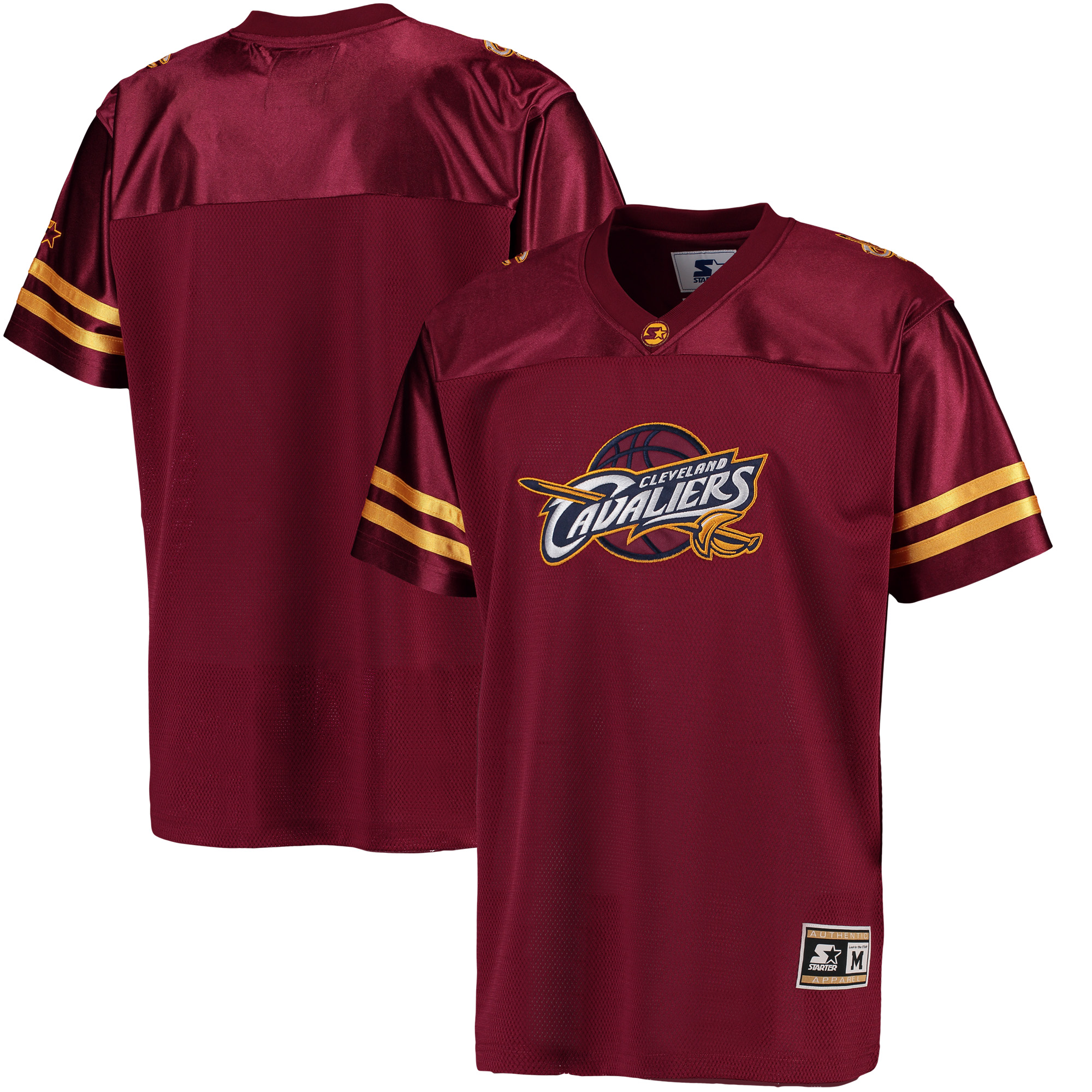 Cleveland Cavaliers G-III Sports by Carl Banks Football Jersey - Wine