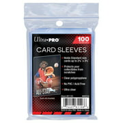 Card Sleeves - 2 5/8 x 3 5/8in by Ultra Pro - 100/pk (Penny Sleeves, Standard CCG) PACKAGING MAY VARY