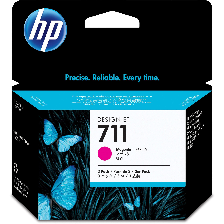 HP, HEWCZ135A, CZ1 Series Ink Cartridges, 3 / Pack