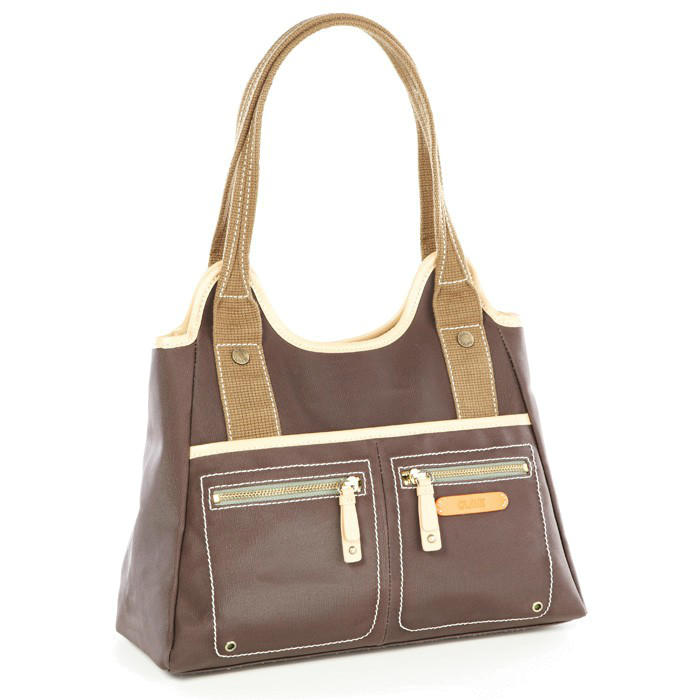 Clava Leather Carina Triangle Tote Bag