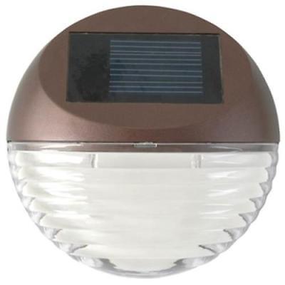 Moonrays Mini Solar Deck Light, 2 Pack