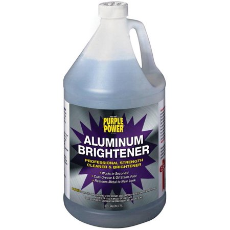 Clean Rite Purple Power 4120P Aluminum Brightener  1 Gal  Liquid  Clear