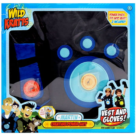 Wicked Cool Toys Wild Kratts Creature Rescue Power Suit Martin