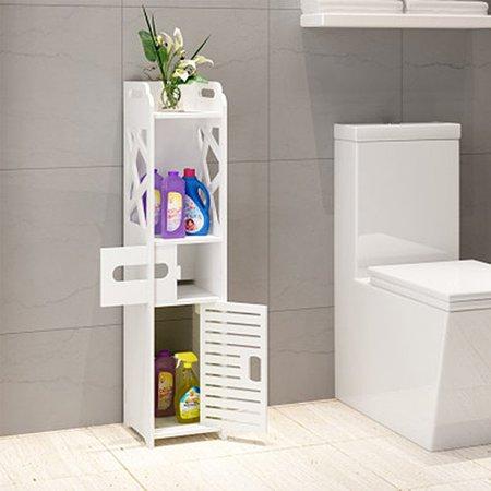 Rebrilliant Bathroom Multi Compartment W X H Linen Tower - Bathroom compartment