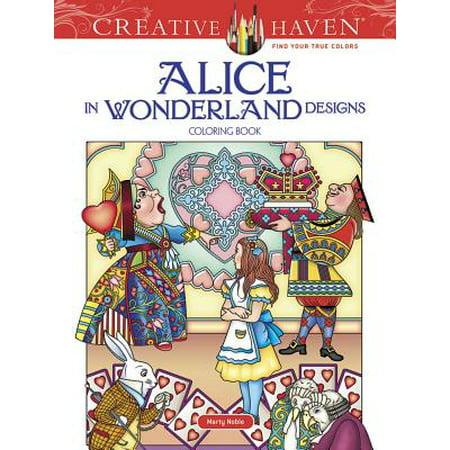 Dog In Alice In Wonderland (Creative Haven Alice In Wonderland Designs Coloring)