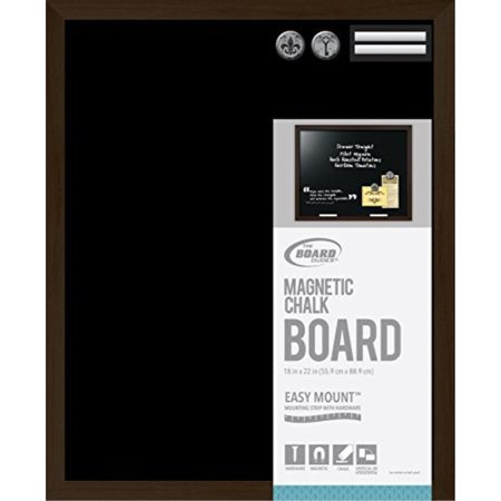Board Dudes 18 X22 Magnetic Black Slate Chalkboard Message Wood Frame Sign Restaurant