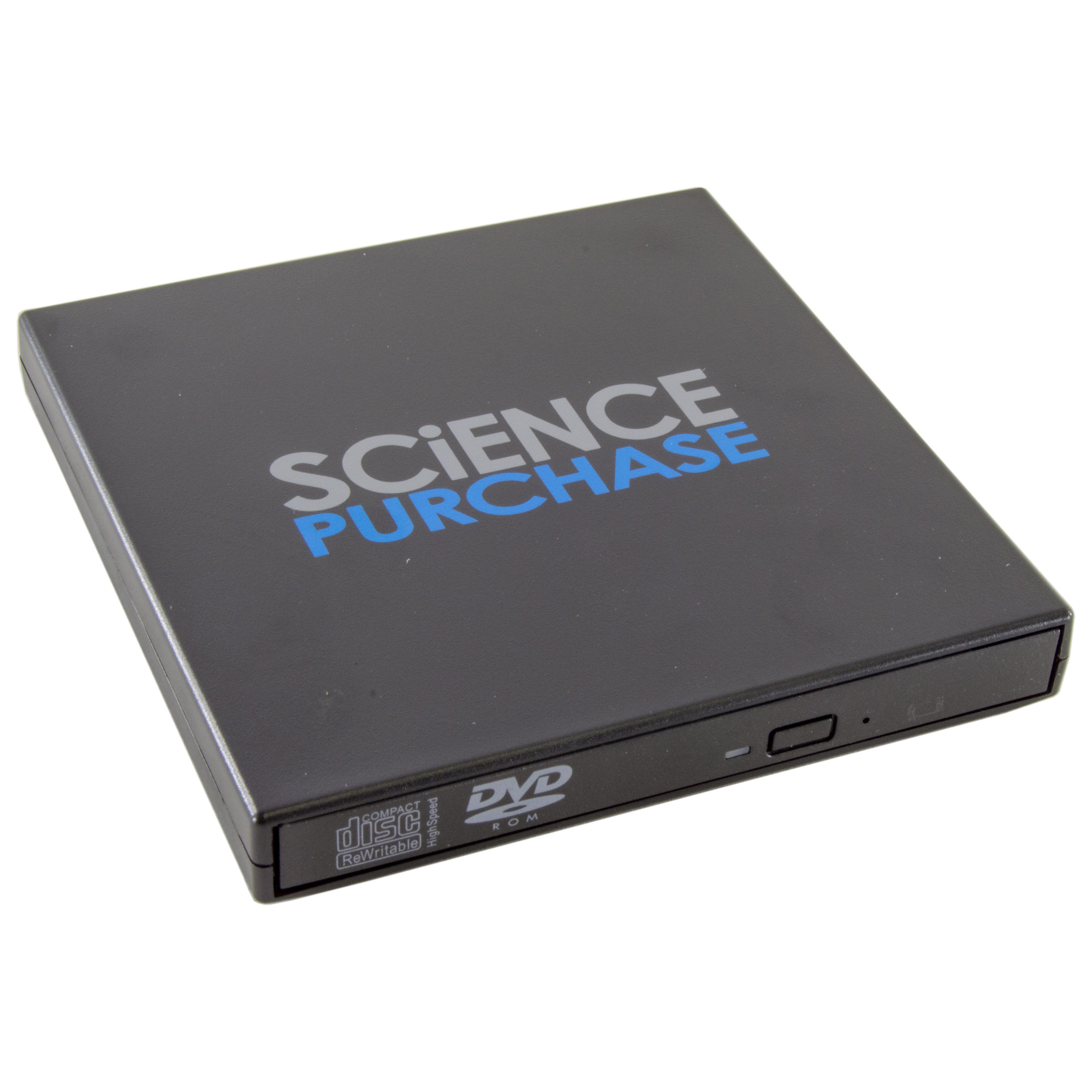 USB 2.0 Slim External DVD ROM CD-RW Combo Drive Writer