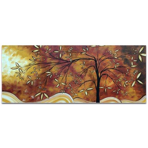 Metal Art Studio 'The Wishing Tree' by Megan Duncanson High-Gloss Painting Print on Acrylic Plaque
