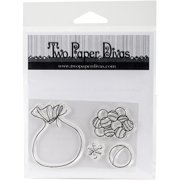 Two Paper Divas Clear Stamps 6 Inch X 4.5 Inch-Lets Play