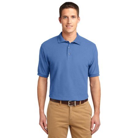 Port Authority® Silk Touch™ Polo.  K500 Ultramarine Blue Xs - image 1 of 1