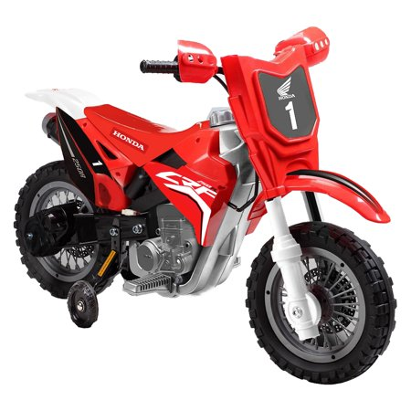 - Best Ride On Cars Honda CRF250R Dirt Bike Battery Powered Riding Toy