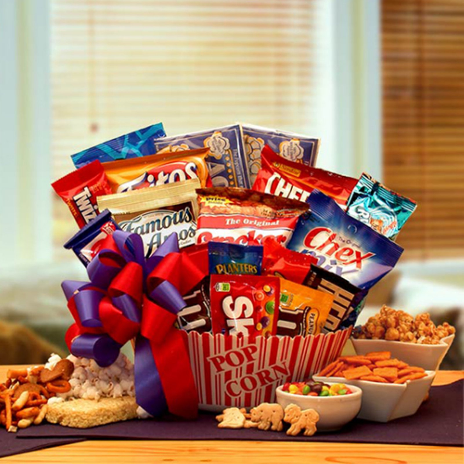 Snack time Favorites Gift Basket - Walmart.com on planter wreaths, woven planter baskets, planter bags, planter plants, wall planter baskets, wire baskets,