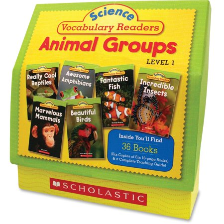 - Scholastic, SHS0545149207, Res. Vocabulary Readers Animal Groups, 1 Set