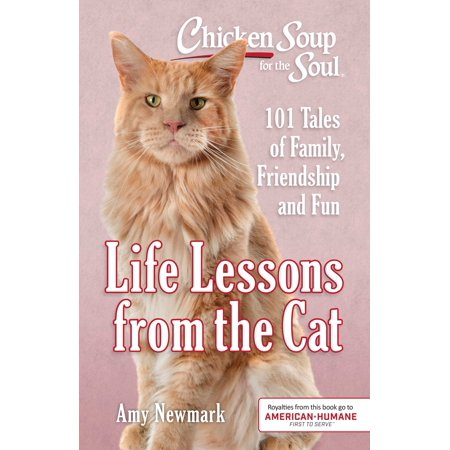 Chicken Soup for the Soul: Life Lessons from the Cat : 101 Tales of Family, Friendship and Fun ()