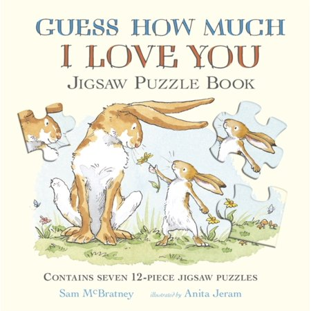 Guess How Much I Love You Rabbit - GUESS HOW MUCH I LOVE YOU JIGSAW PUZZLE