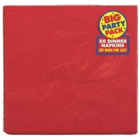 Amscan 62215. 40 2-Ply Dinner Napkin Apple Red - Pack of 600