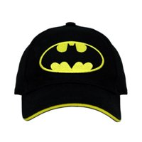 DC Comics Batman 3D Pop Black Baseball Cap – Boys Toddler