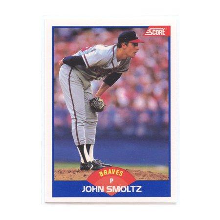 1989 Score 616 John Smoltz Atlanta Braves Rookie Card