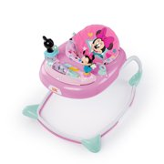 Bright Starts Disney Baby Minnie Mouse Baby Walker with Activity Station, Stars & Smiles
