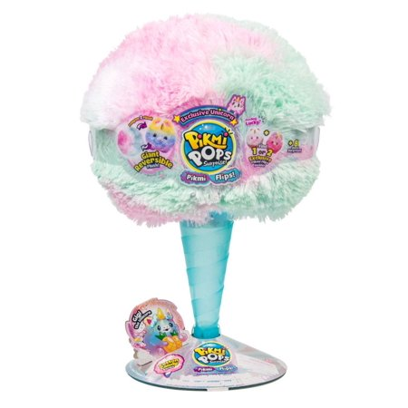 Pikmi Pops Surprise! GIANT Flips! Gigi the Unicorn Mystery Pack [Reversible Scented Plush!]