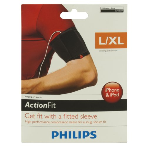 Philips iPhone & iPod Compression Sleeve, L/XL