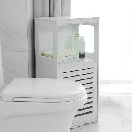 wholesale dealer 91e65 95da1 Corner Cabinet,HURRISE Wood Plastic Board Corner Cabinet Elegant Bathroom  Storage Organizer Rack Shelf Home Furniture