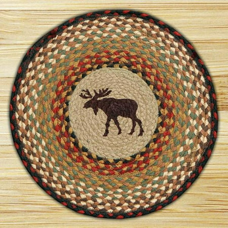 15.5in. x 15.5in. Moose Round Chair Pad