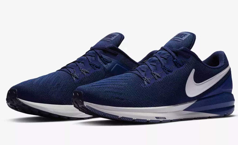 b9f6948ebbe8d Nike - Nike nkAA1636 404 8.5 Air Zoom Structure 22 Blue Void VAST Grey-Gym  Blue 8.5 - Walmart.com