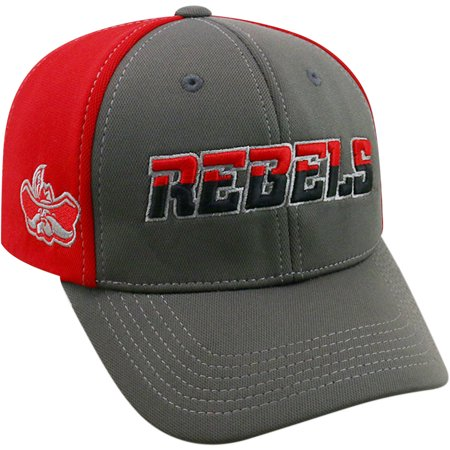University Of Unlv Running Rebels Grey Two Tone Baseball Cap](Link Hat)