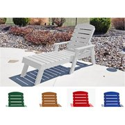 Jayhawk PB ADPENCLWHI Pensacola Chaise Lounge, White