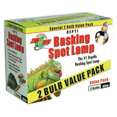 Zoo Med Basking Spot Lamp - 2 pack