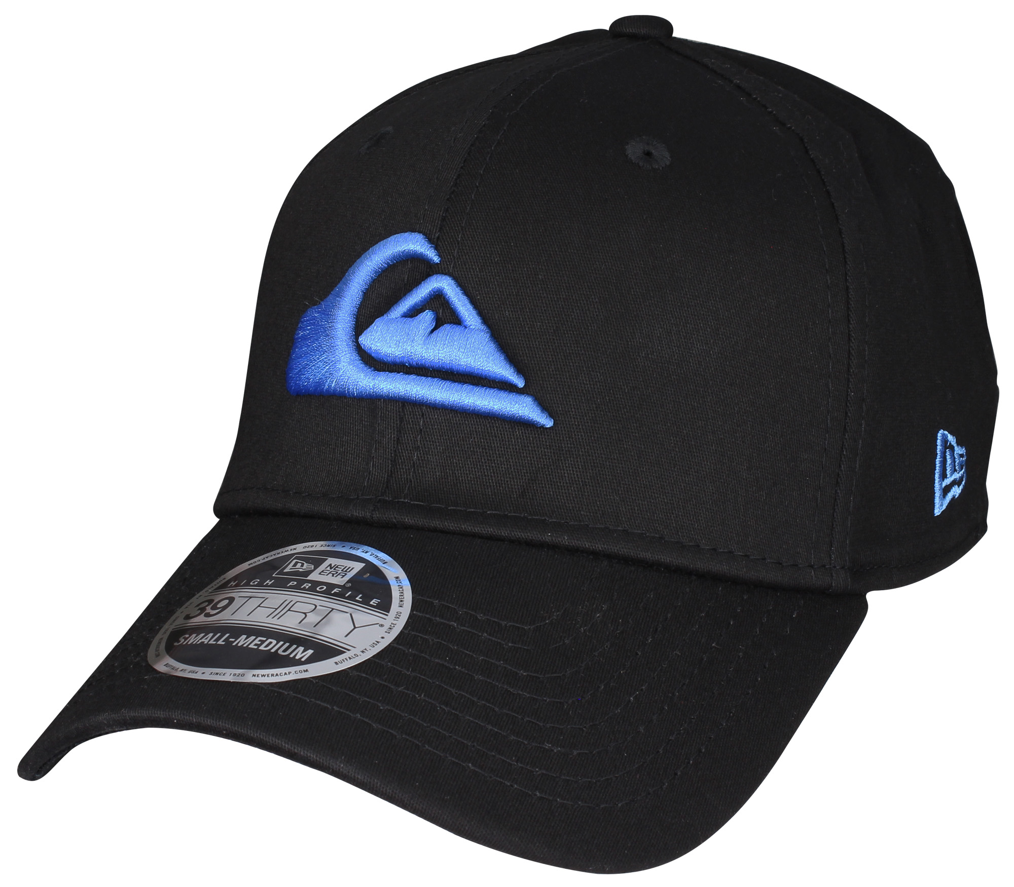 Quiksilver Mountain and Wave Hat Malibu Blue New