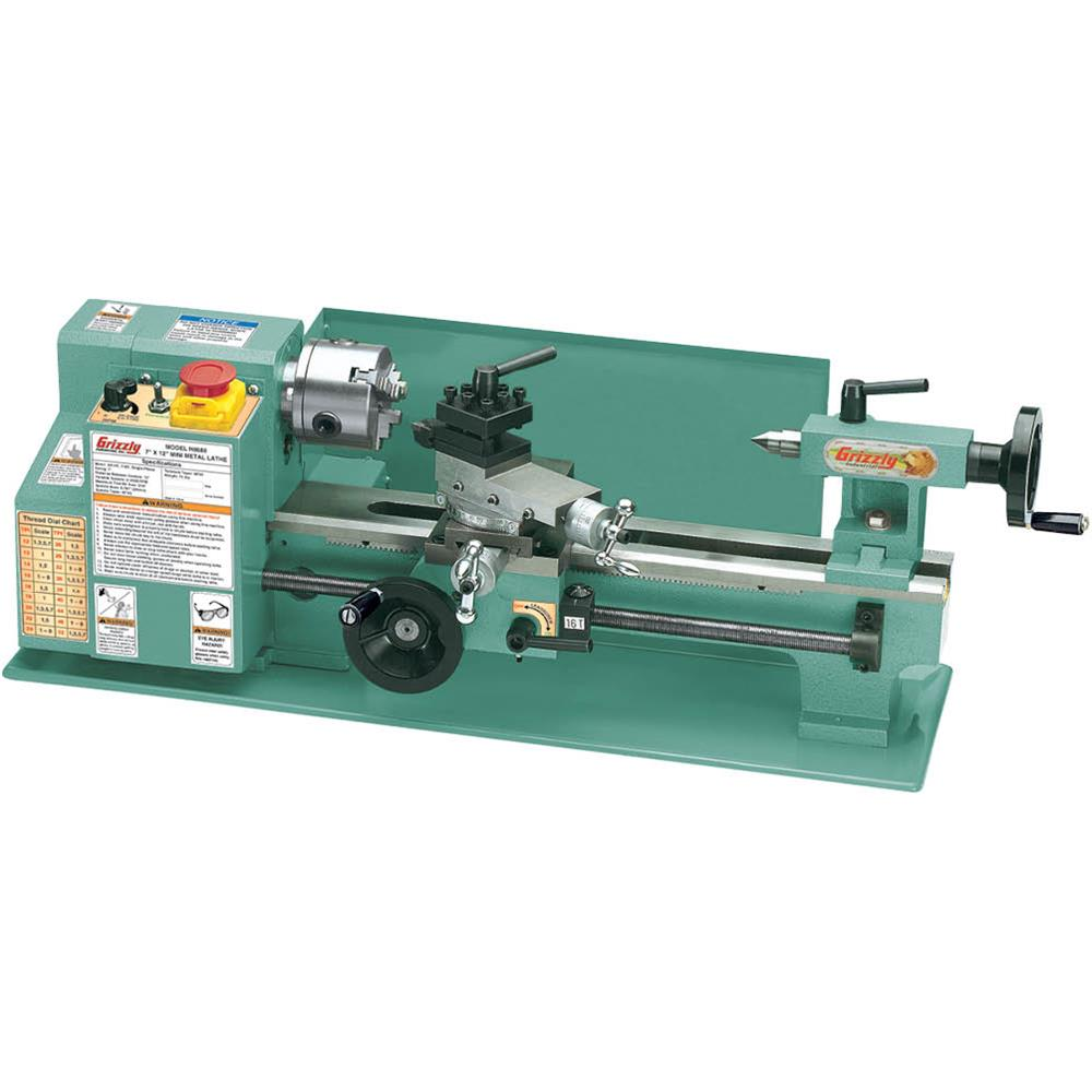 "Grizzly G8688 7"" x 12"" Mini Metal Lathe by"