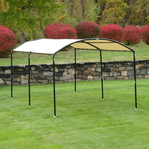 "10'x18'/3 x 5.5m Monarc Canopy with 2"" Steel Black Frame"
