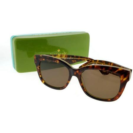 a6e1f6de4a11 Kate Spade LORELLE-S-QPB-53 Women's Tortoise Frame Brown Lens Genuine  Sunglasses - Walmart.com