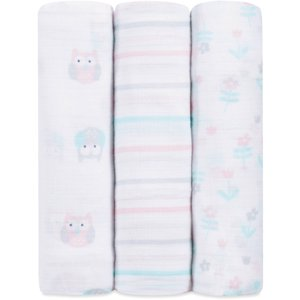 ideal baby by the makers of aden + anais Swaddles, Owls
